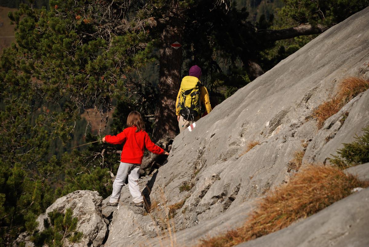 Montée à l'Engelhornhütte