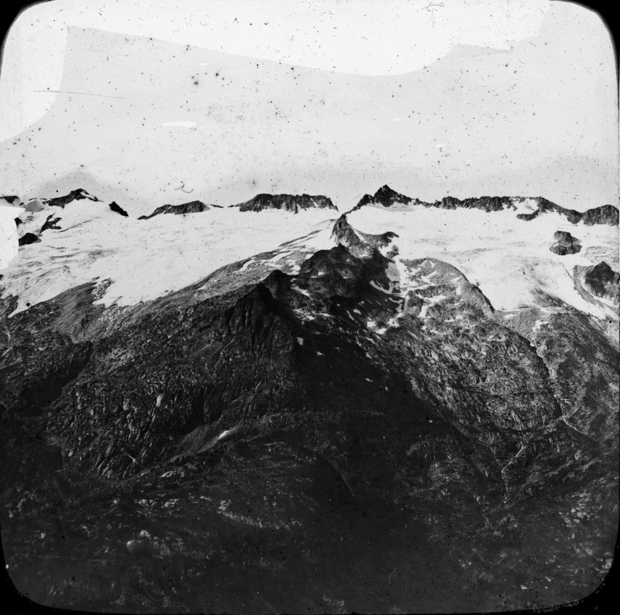 Glaciers de la Maladeta et de l'Aneto en 1895