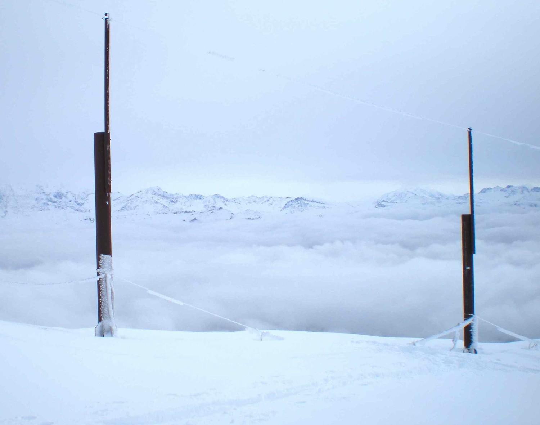 vue sur le Mt blanc