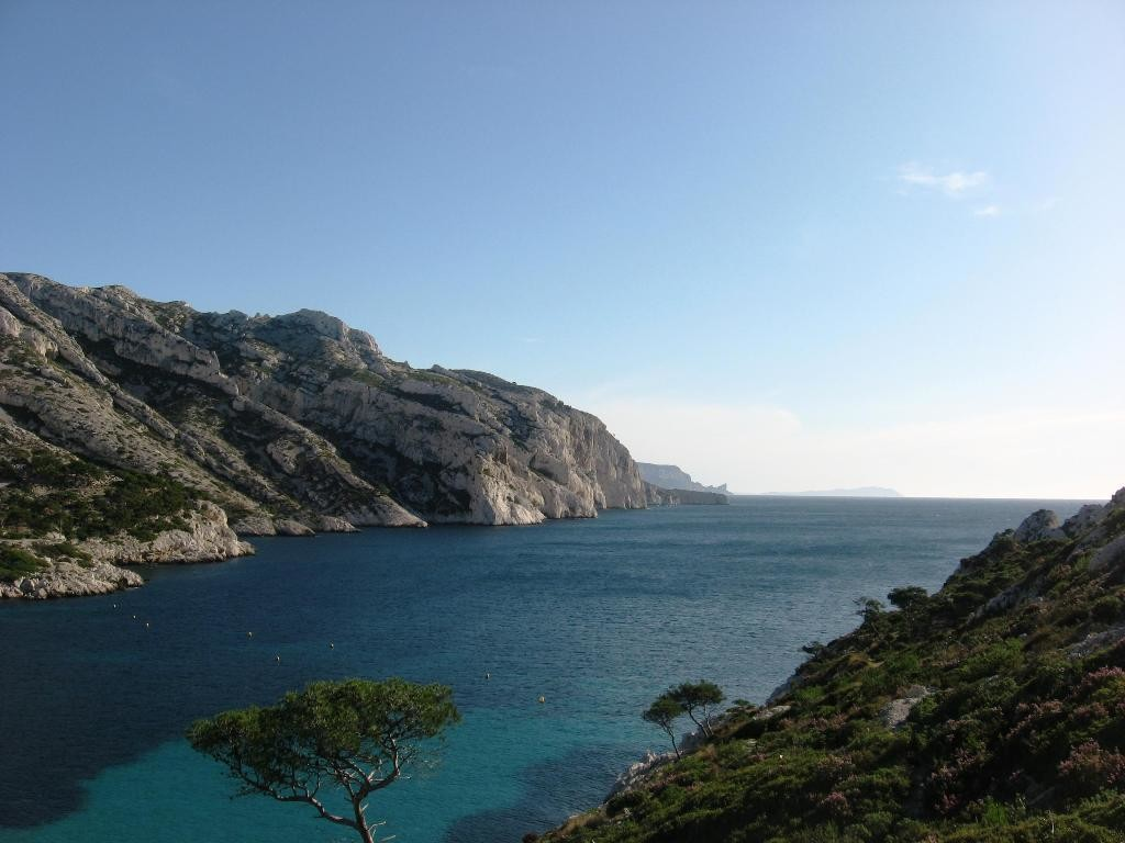 Calanques de Sormious