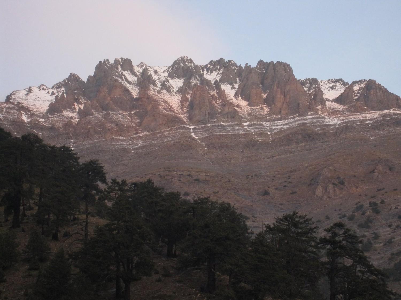 Mont Olympe vu depuis le refuge A