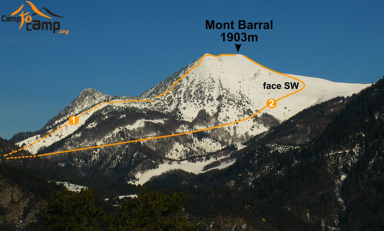 Boucle du Barral depuis le Col de Menée