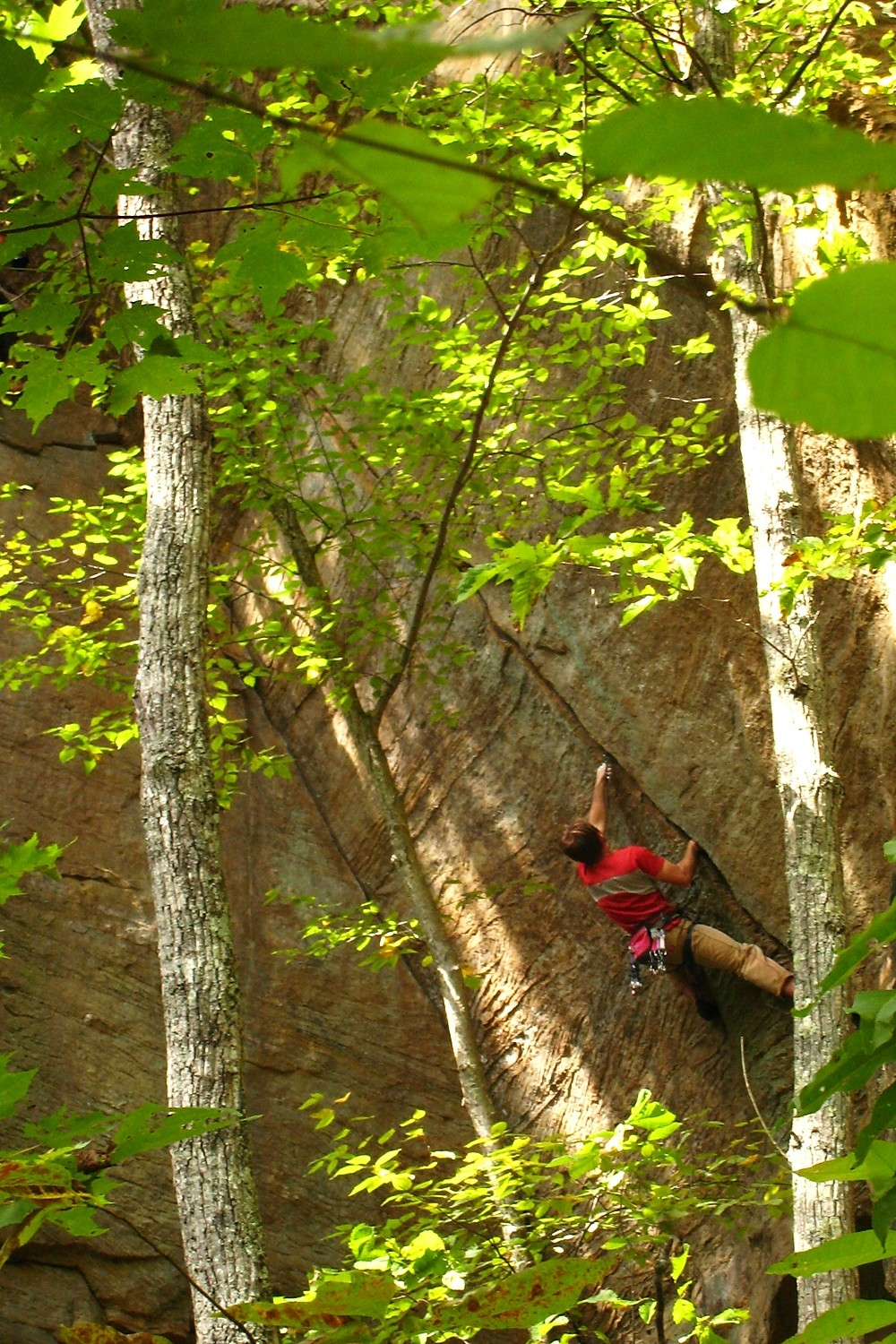 Welcome to Ole Kentuck (fissure en 5.13 trad!!!), Pebble Beach, Red River Gorge, USA
