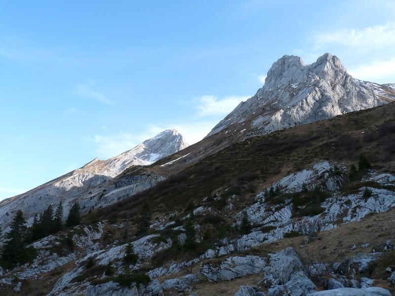 Mamule et Mont Charvet