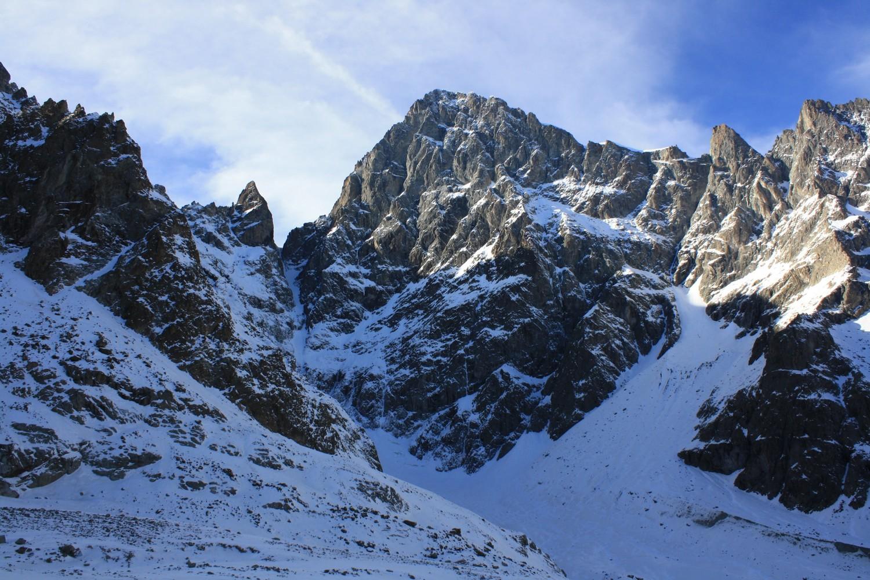 Barre des Ecrins, Col des Avalanches et Fifre