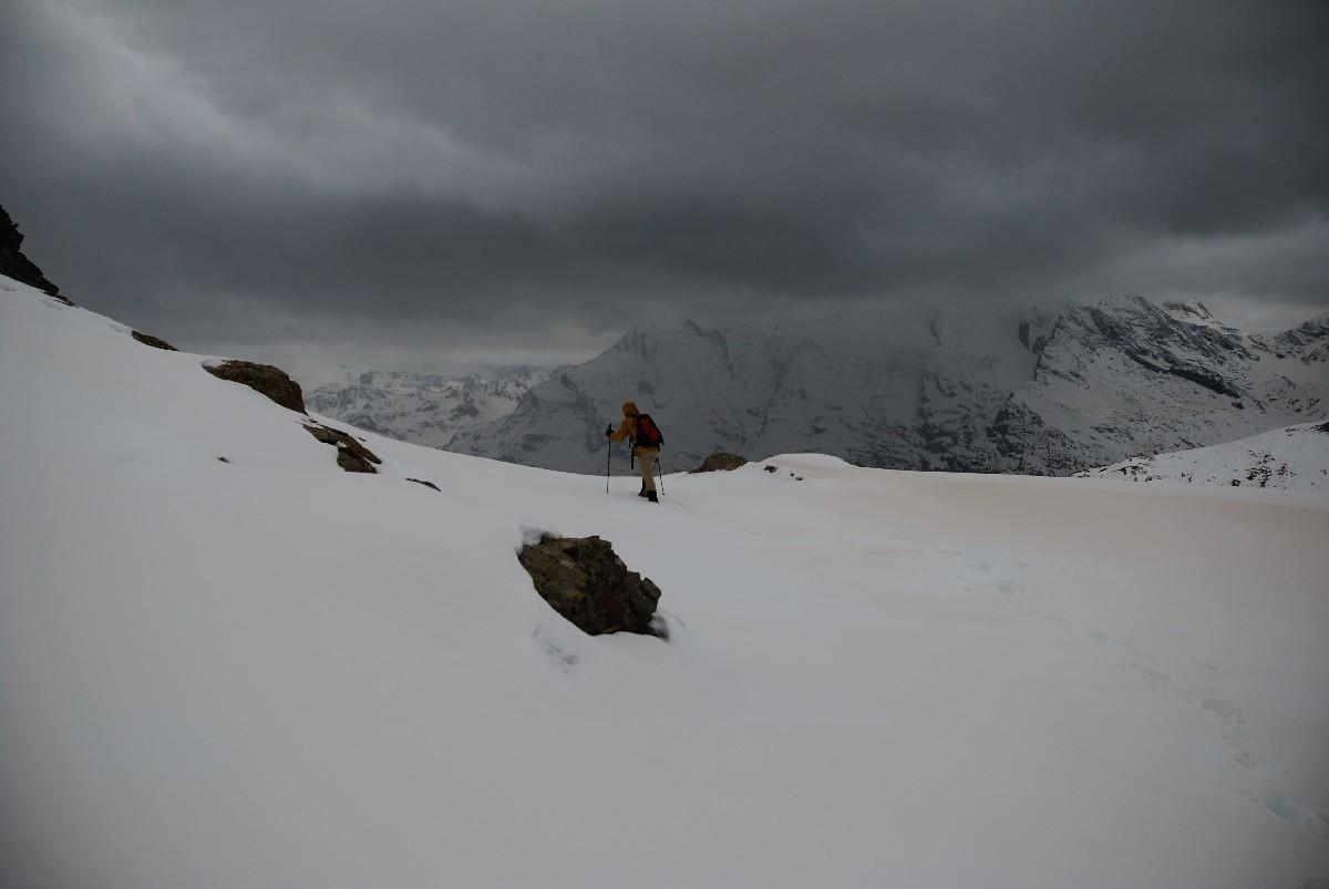 Descente de la Pointe de la Foglietta, vers 2600m