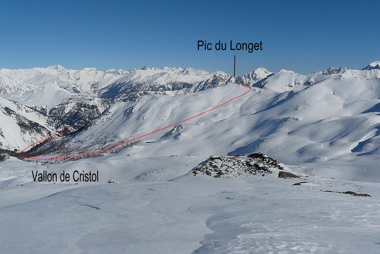 Itinéraire Pic du Longet (2ème partie)
