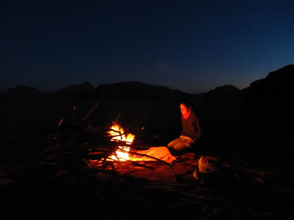 Bivouac au wadi Rum