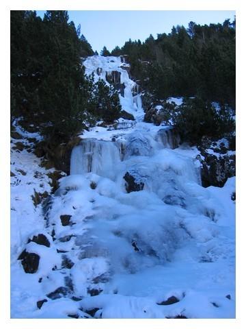 Bielsa : cascade du Catchet