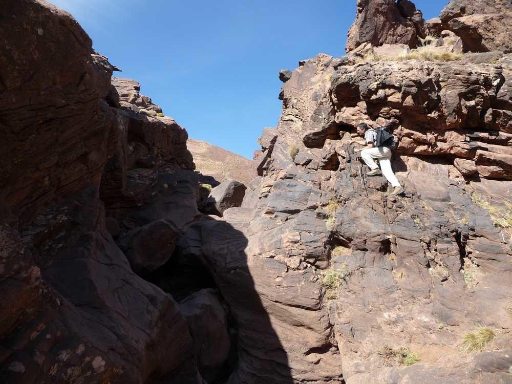 sortie gorge 2300 m