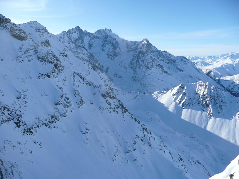 Meije et glacier de l'Homme