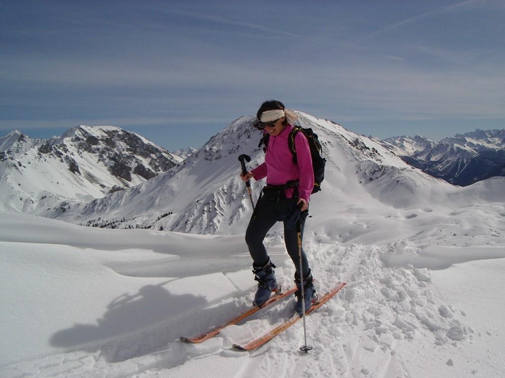 ski de rando au col du Peygu(05)