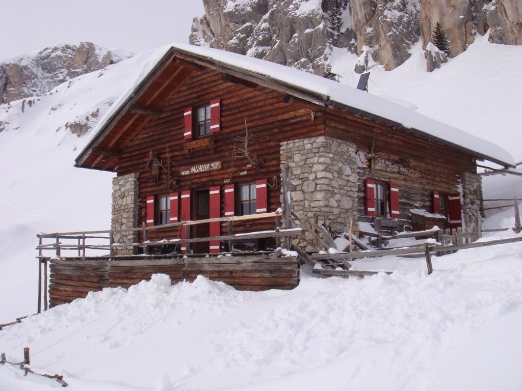 il rifugio Vallaccia