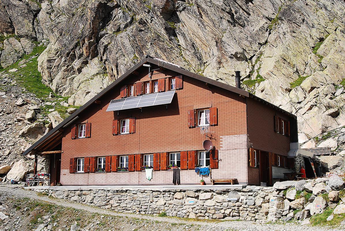 La Schreckhorn hutte 2529 m.