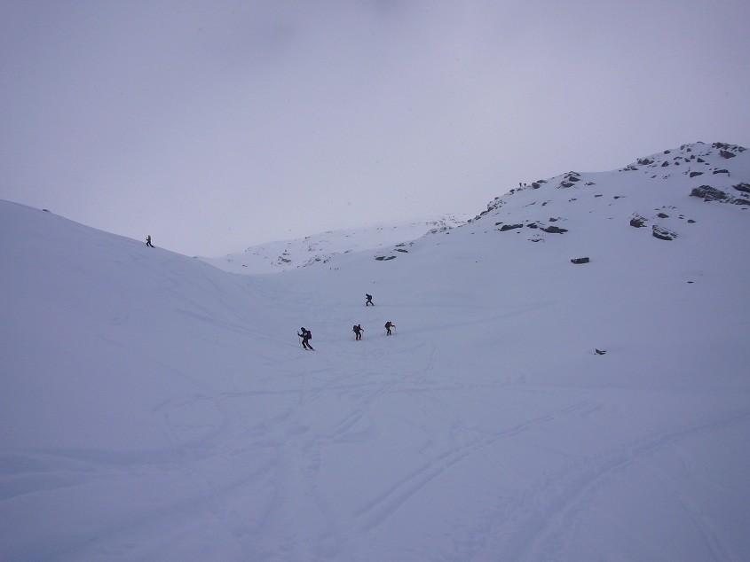 Dernier bout avant le sommet
