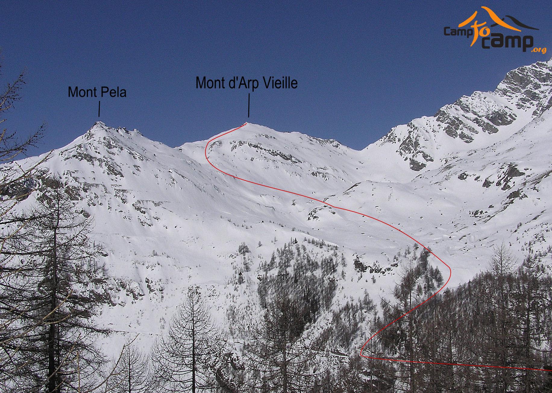 Mont Arp Vieille : da Valgrisenche - Camptocamp.org