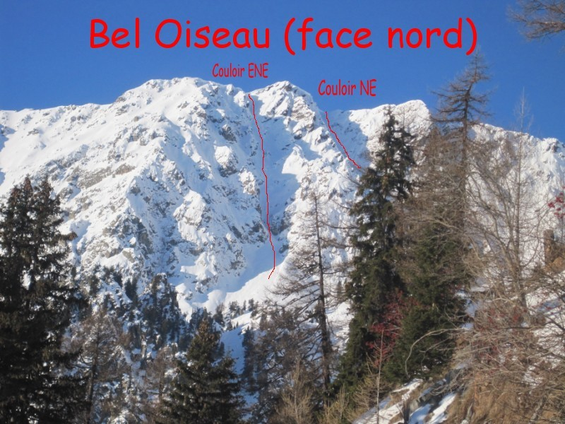 Bel Oiseau - itinéraires