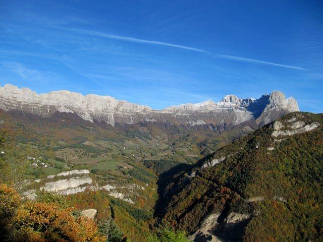 La Grande Moucherolle depuis la montée vers Gresse-en-Vercors