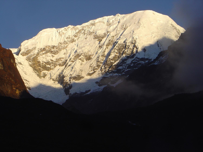 Face sud du Chamlang 7321 m