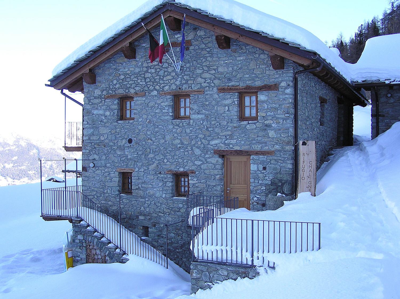 Refuge de Chaligne (Val d'Aoste)
