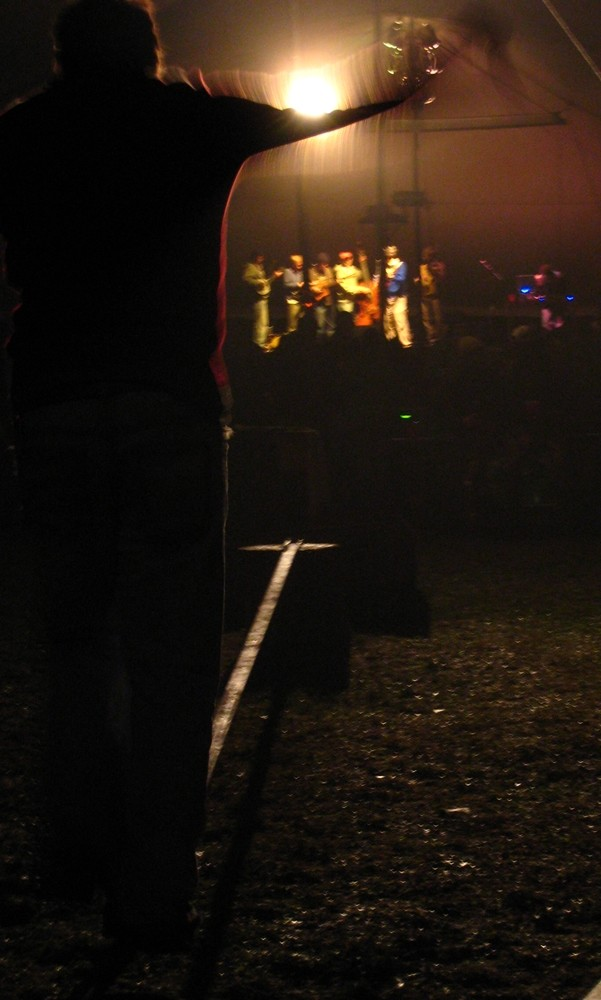 slackline by night