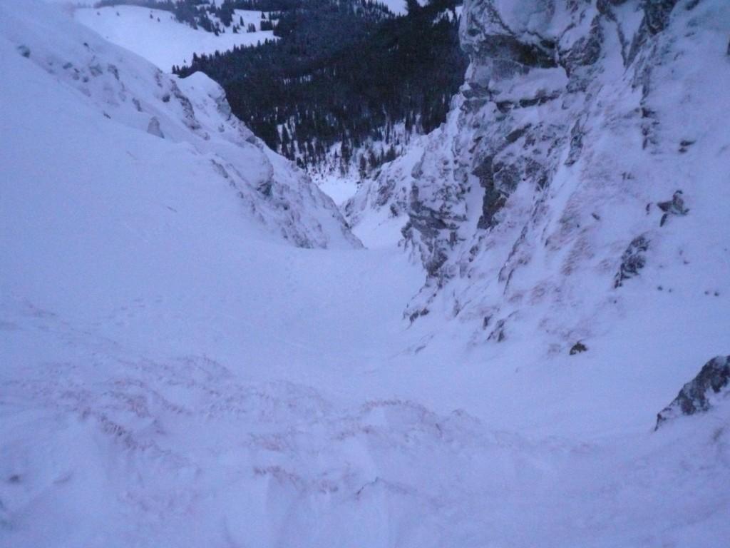Départ du couloir NW du Mt d'Or : il valait mieux renoncer aujourd'hui