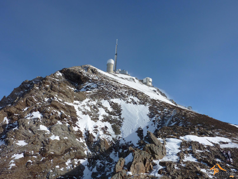 Pic du Midi vu depuis le col des Laquets