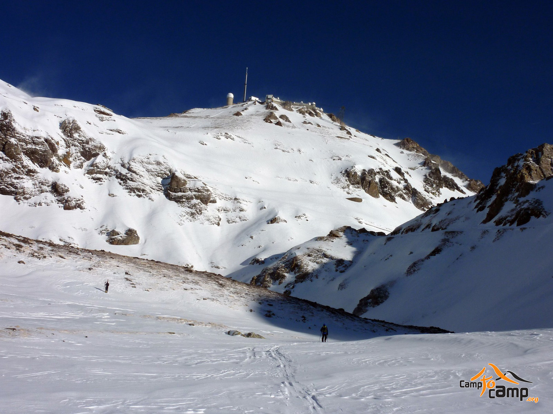 Face sud du Pic du Midi de Bigorre