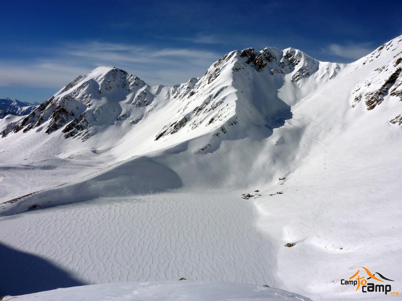 La Bonida, Pic d'Oncet et Col d'Oncet