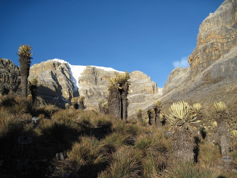 Col Bella Vista depuis La laguna de la Plaza