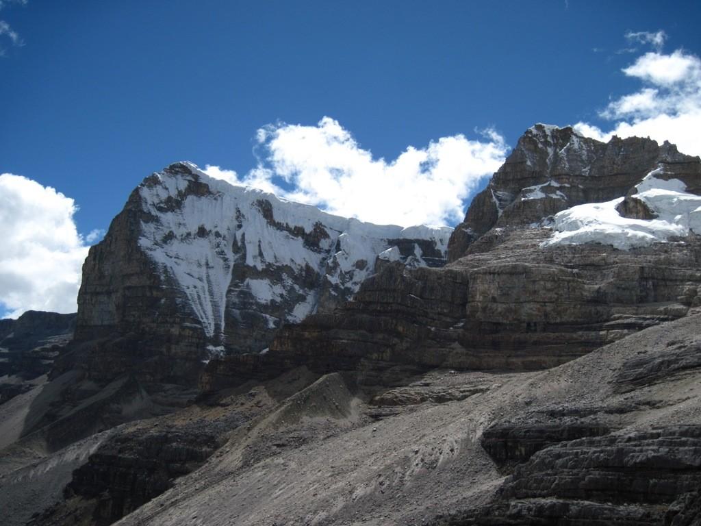 Ritac'Uwa Blanco y Negro, depuis le col de la Sierra (4650 m)