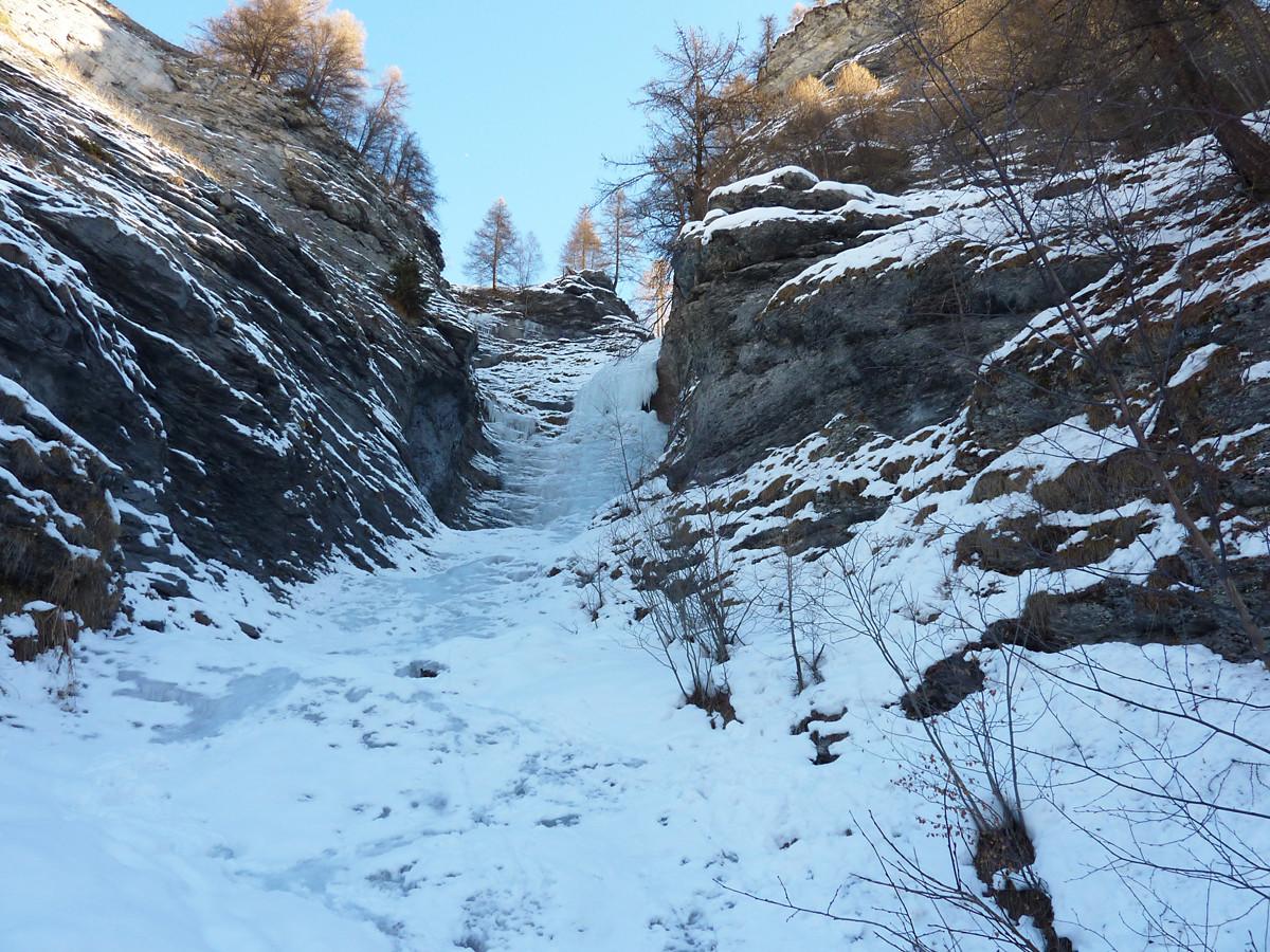 Cascade du Torrent d'Evolène 1