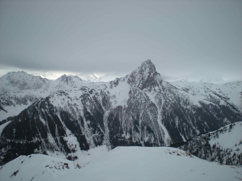 lumière ultime avant la neige sur le Tirol