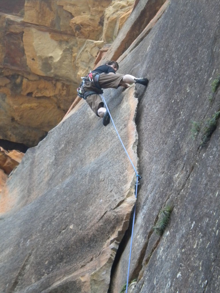 Blue Mountains - Mt Piddigton - The flake crack (17)