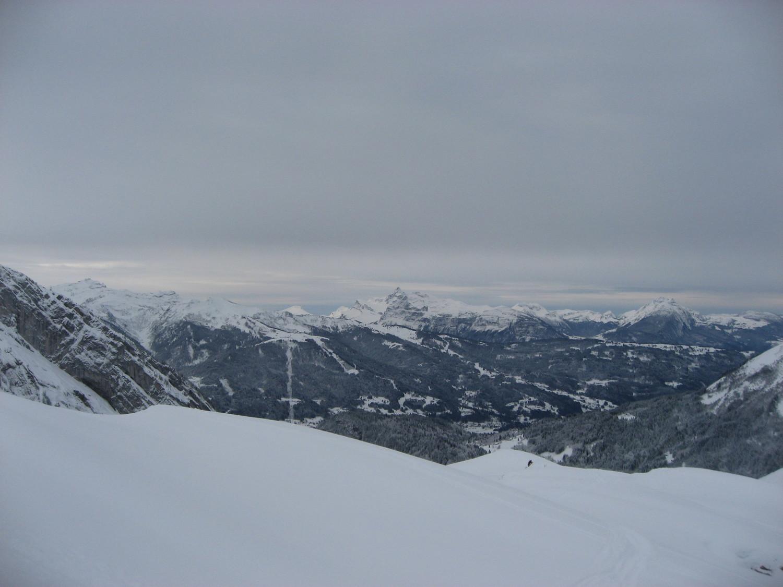 Panorama sur les Aravis