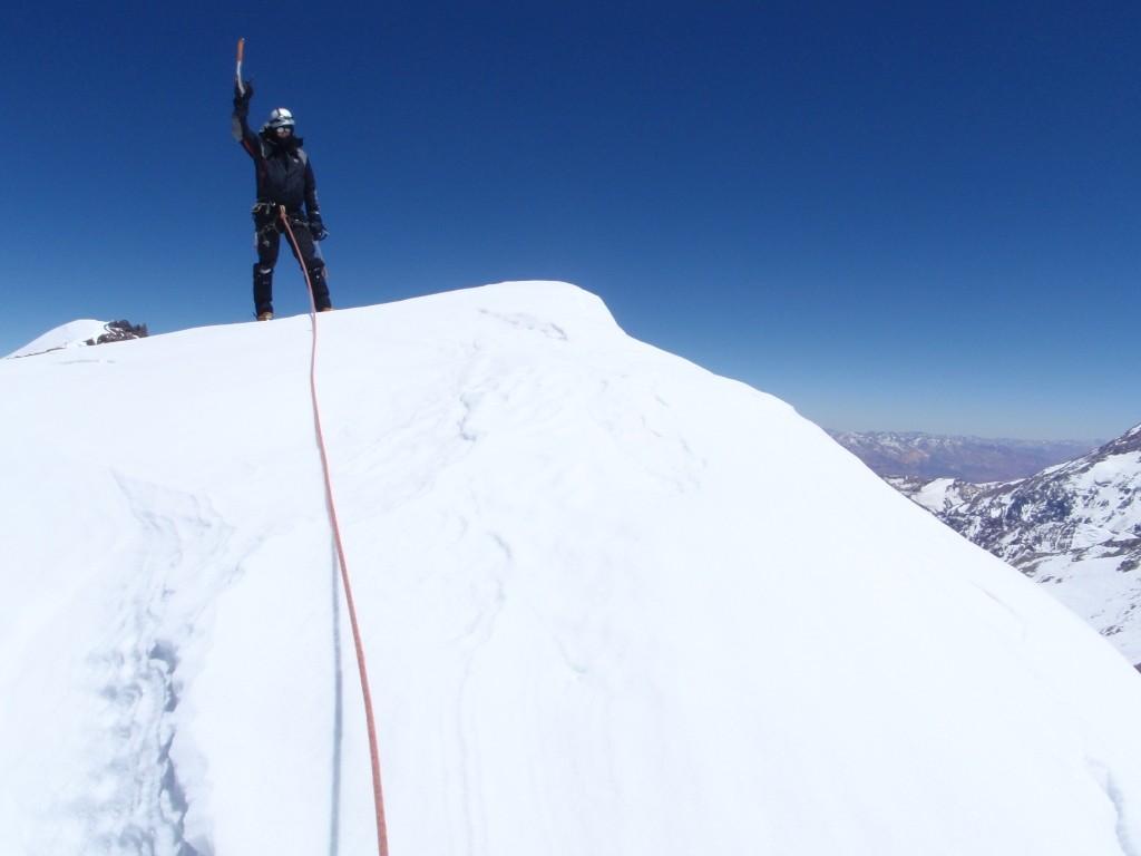 En la cumbre central del Cerro La Mesa