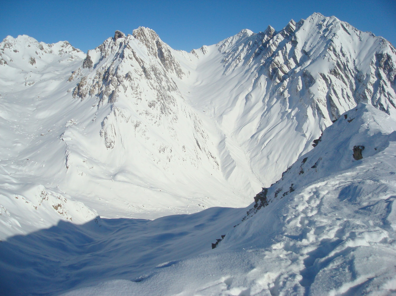 Presset, Pointe de Gargan, Col de la Nova et Roignais