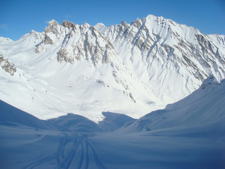 Col de la Charbonnière Versant Nord