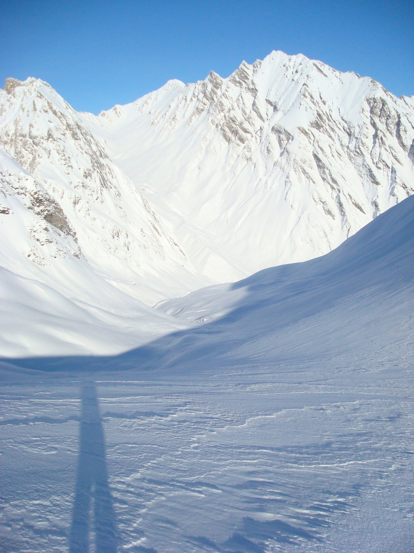 Col du Mont Rosset Versant Nord