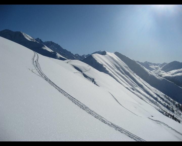 Ler Mont Brûlé, depuis la Tête de la Payanne