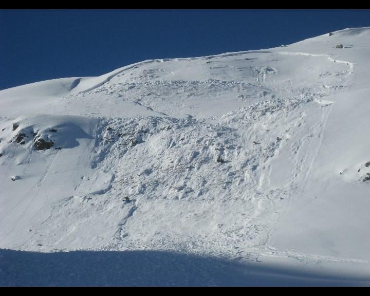 Avalanche de la Payanne à Bruson 03.01.2010