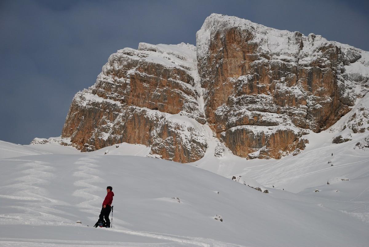 ...ce qui n'empêche pas d'y faire de l'excellent ski !
