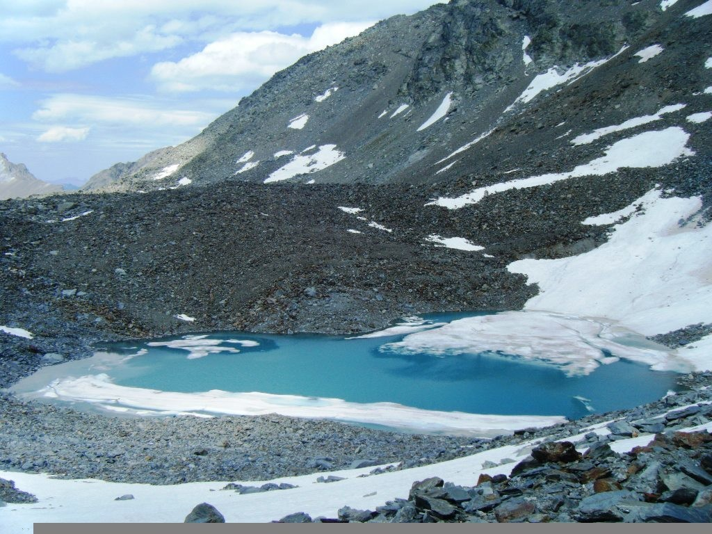 Lac sous le col du Grand Infernet