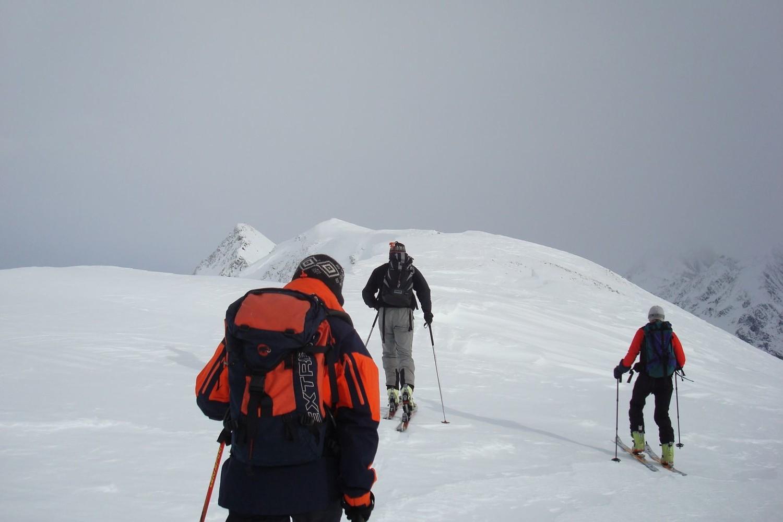 En vue du sommet