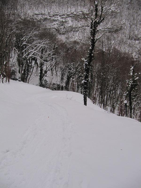 Encore du bon ski jusqu'à la Ferme Raymond !
