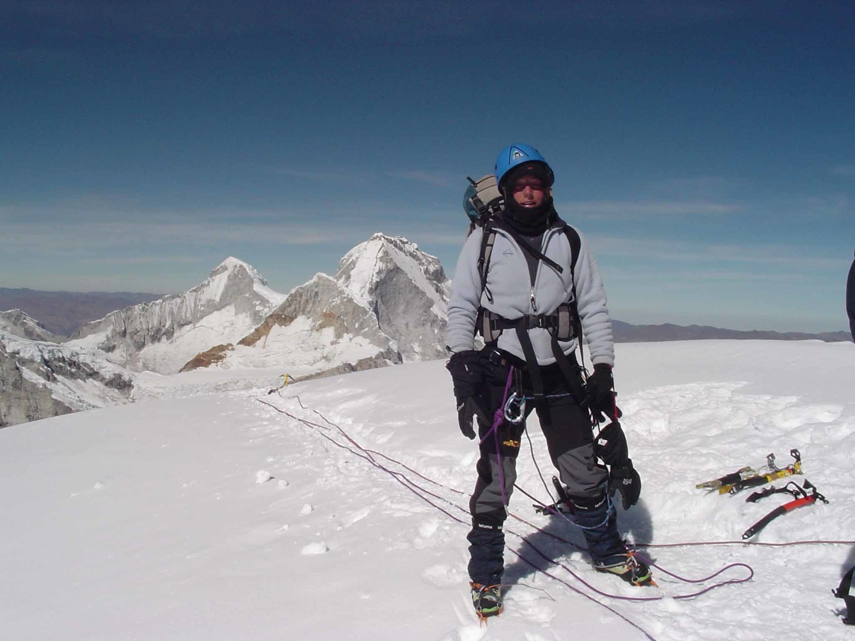 Julie au sommet