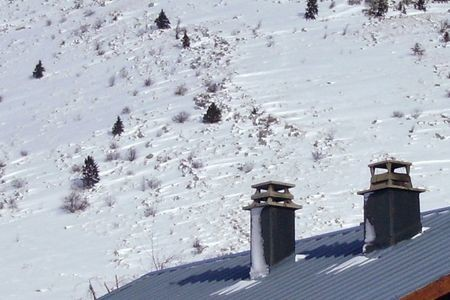 neige sur obstacles