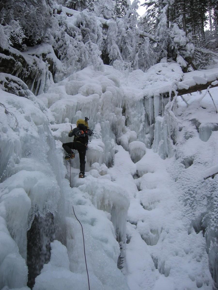 Canyon d'Ubine - second ressaut