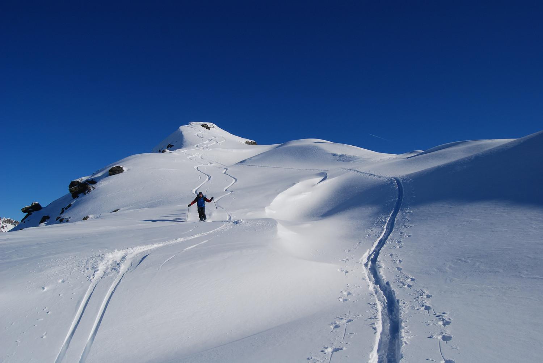 La cima del Dosso Resaccio 2719 m.