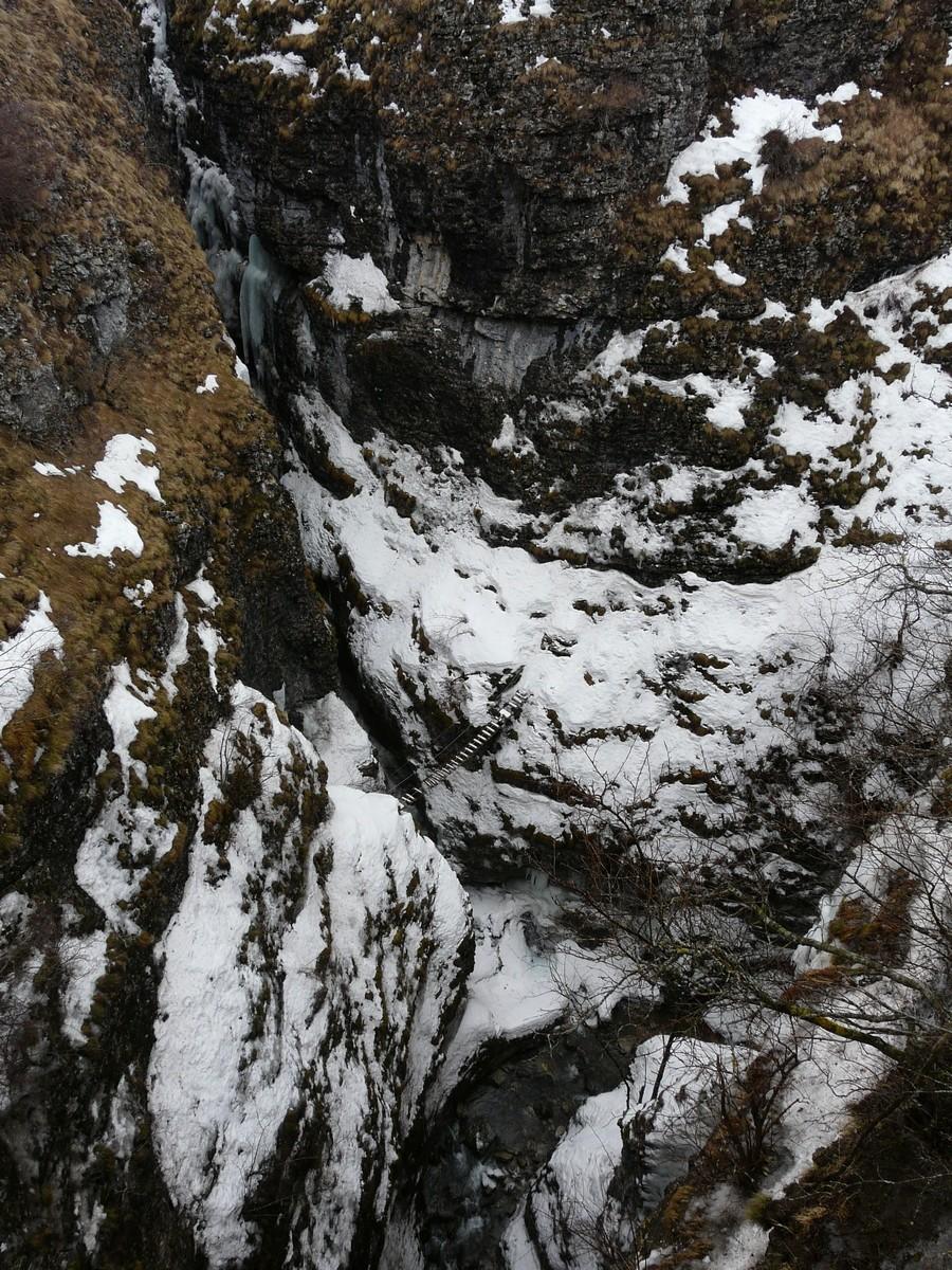 Gorge des Etroits (hiver)